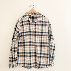Woolrich Women's Plaid Flannel Button Down